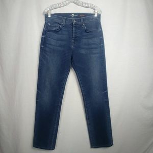 7 for all Mankind size 30 Aiden Button Fly Jeans